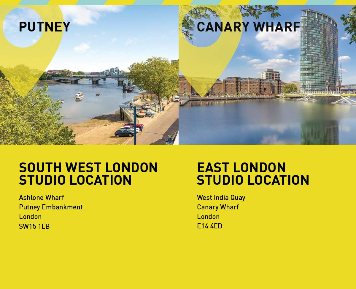South East London and East London Studio Addressess